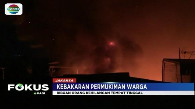 Polisi tetapkan tersangka kasus kebakaran rumah di Taman Sari, Jakarta Barat. Pelaku membakar rumahnya lantaran mendapat bisikan gaib.