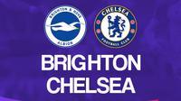 Liga Inggris: Brighton Hove Albion vs Chelsea. (Bola.com/Dody Iryawan)