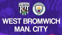 Premier League - West Bromwich Albion Vs Manchester City (Bola.com/Adreanus Titus)