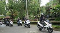 Begini Cara Bikers Lestarikan Wisata di Indonesia (Foto:AHM)