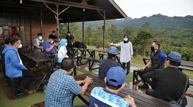 Sejumlah kader Demokrat Banten bertemu AHY. (Ist)