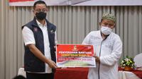Mensos berharap bantuan bisa meringankan sebagian beban masyarakat terdampak pandemi.