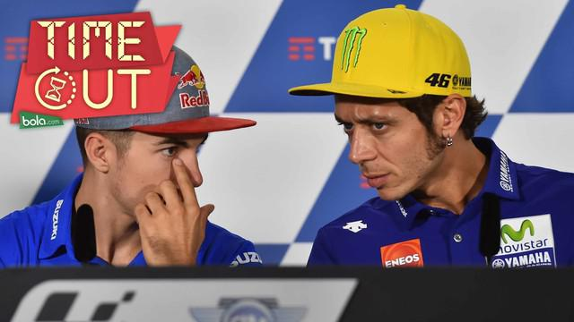 Duet Yamaha Movistar Maverick Vinales dan Valentino Rossi akan menjadi rival utama Marc Marquez di MotoGP 2017