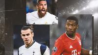 Ilustrasi - Gareth Bale, Sergio Ramos, David Alaba (Bola.com/Adreanus Titus)