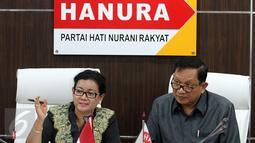 Ketua DPP Partai Hanura Dadang Rusdiana (kanan). (Liputan6.com/Johan Tallo)