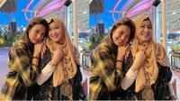 Saskia Chadwick dan Okie Agustina (Sumber: Instagram/okieagustina_)