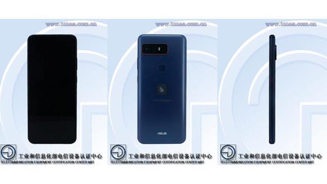 Smartphone gaming kolaborasi Qualcomm dan Asus muncul di TENAA. (Doc: TENAA)