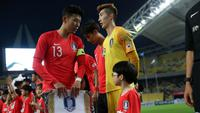 Timnas Korea Selatan U-23 di Asian Games 2018 diperkuat Son Heung-min dan Cho Hyun-woo. (Bola.com/Dok. KFA)