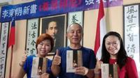 "Seorang warga Taiwan, Lee Dong-ming, menulis buku tentang Nusantara berjudul ""Seeing Indonesia: The Rainbow Country Across the Equator"". (TETO)"