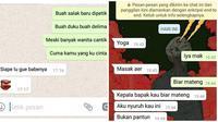 Percakapan Terlanjur Pantun Ini Bikin Ketawa Ngakak (sumber:Instagram/pesansingkatindonesia)