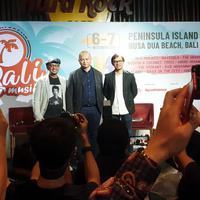 Presconfrence Sunset Bali Music Festival di Hard Rock Cafe, Jakarta