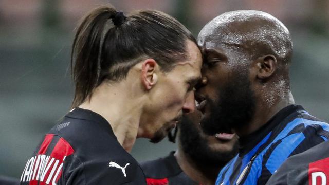 Zlatan Ibrahimovic - AC Milan - Romelu Lukaku - Inter Milan