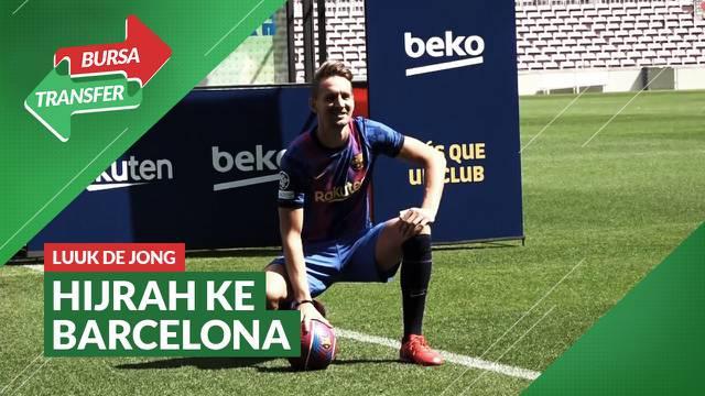 Berita Video, Barcelona Resmi Perkenalkan Luuk de Jong