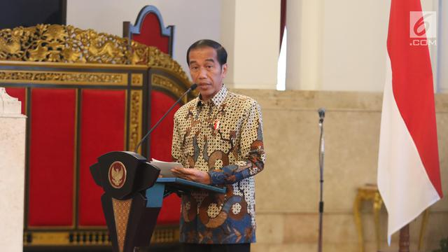 Presiden Jokowi Serahkan Dokumen Stranas Pencegahan Korupsi