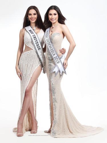 Catriona Gray dan Frederika Alexis Cull