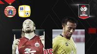 Piala Menpora: Persija Jakarta vs Barito Putera. (Bola.com/Dody Iryawan)