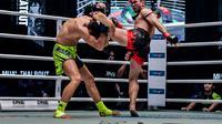 Muay Thai akan menjadi salah satu acara utama di ajang ONE: Clash of Legends, di Bangkok, pekan depan. (ONE Championship)