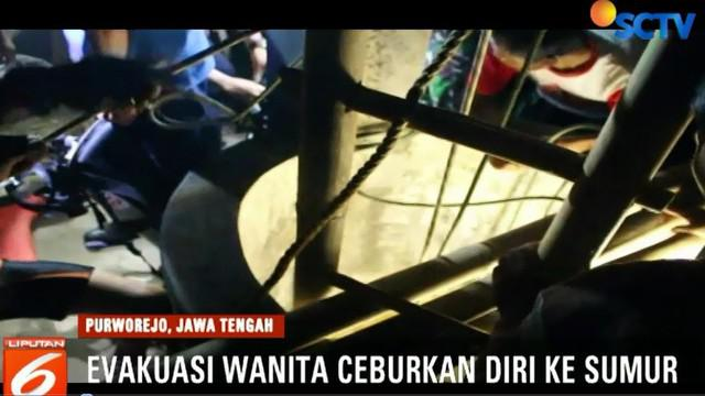 Korban diketahui bernama Purwati (34 tahun) warga Desa Ngasinan, Kecamatan Dukuh Candi, Purworejo, Jawa Tengah.