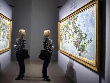 Melihat Lukisan Karya Sang Maestro Claude Monet