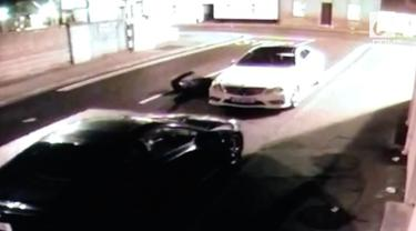 Bermaksud mencuri sebuah mobil, sang pencuri alami cedera parah di kepala dan ditangkap polisi.
