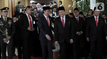 Senyum Jokowi-Ma'ruf Usai Dilantik Jadi Presiden dan Wakil Presiden