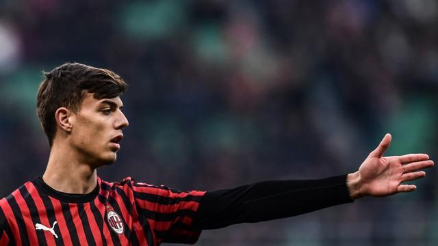 Gelandang AC Milan, Daniel Maldini.