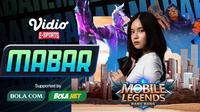Main bareng Mobile Legends bersama Guraisu alias Grace eks JKT48, Senin (11/1/2021) pukul 19.00 WIB dapat disaksikan melalui platform Vidio, laman Bola.com, dan Bola.net. (Dok. Vidio)