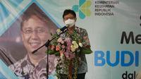 Menteri Kesehatan RI Budi Gunadi Sadikin dalam kunjungan kerja persiapan vaksinasi COVID-19 di Yogyakarta, juga hadir dalam peresmian gedung BBTKLP Yogyakarta pada 21 Februari 2021. (Dok Kementerian Kesehatan RI)