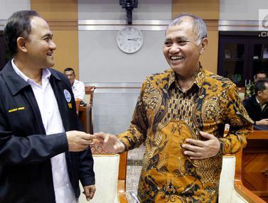 Ketua KPK dan BNN Bahas Anggaran Bersama DPR