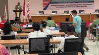 Plt Ketua Umum Pordasi DKI jakarta, Lucky Sastrawiria saat membuka rakerprov, Selasa (6/4/2021) (istimewa)