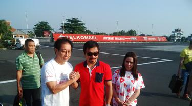 Manny Pacquiao Kunjungi Semarang