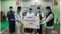 BPKH Salurkan Ribuan Paket Sembako untuk Warga Terdampak Covid-19. foto: istimewa
