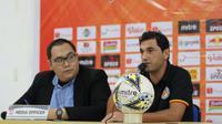 Pelatih Semen Padang, Eduardo Almeida, mengaku timnya tak memiliki persiapan khusus untuk melawan Persija Jakarta. (dok. Persija Jakarta)