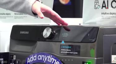 Samsung Rilis Smart Eco Bubble Washer