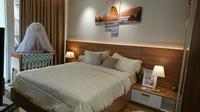 Desain kamar tidur yang berkonsep Japandi bagi kaum milenial. (Liputan6.com/Dinny Mutiah)