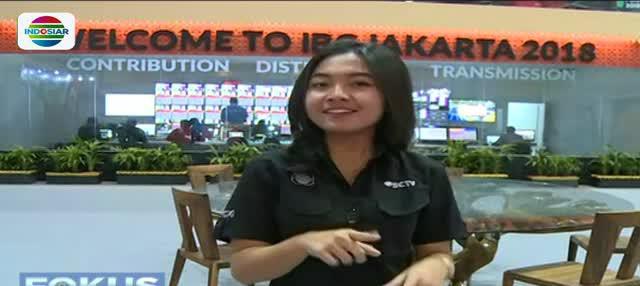 International Broadcasting Centre (IBC) didirikan di JCC Senayan untuk menampung 75 media yang akan meliput Asian Games 2018.