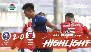 Babak Penyisihan #ShopeeLiga1 yang mempertemukan #  Arema FC  vs #Madura United pada hari jum'at malam (08/11/2019) berakhir denga...