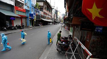 Potret Kota Ho Chi Minh saat Lockdown COVID-19