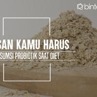 Alasan kamu harus konsumsi makanan kaya prebiotik saat diet. (Foto: Daniel Kampua, Digital Imaging: Nurman Abdul Hakim/Bintang.com)
