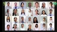 Viral BPK Penabur Nyanyikan lagu Syubbanul Wathon Saat Harlah NU. (Foto: screen capture YouTube).