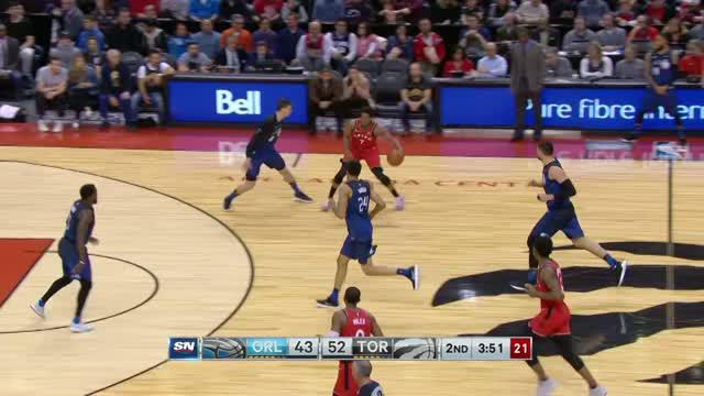 Berita video game recap NBA 2017-2018 antara Toronto Raptors melawan Orlando Magic dengan skor 112-101.