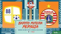 Shopee Liga 1 - Barito Putera Vs Persija Jakarta (Bola.com/Adreanus Titus)