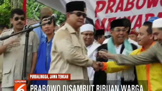 Prabowo kembali menyampaikan berbagai persoalan yang dialami bangsa di hadapan pendukungnya.