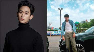Pose Kocak Kim Soo Hyun. (Sumber: Instagram/soohyun_k216)