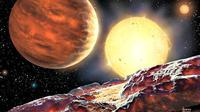 Tom Wagg, anak sekolah berusia 15 tahun menemukan sebuah planet baru seukuran Jupiter. Hebat.