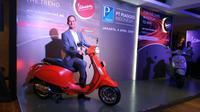 PT Piaggio Indonesia resmi menghadirkan dua model baru Vespa, Primavera S 150 i-get ABS dan Sprint S 150 i-get ABS. (Arief/Liputan6.com)