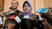 Menteri Kesehatan (Menkes) Nila F Moeloek di Asrama Haji Pondok Gede, Jakarta. Dok MCH/Bahauddin Raja Baso