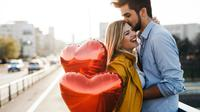 Ilustrasi hubungan cinta pasangan bahagia (iStockphoto)