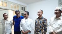 Sekjen parpol koalisi pengusung Prabowo-Sandi menggelar pertemuan tertutup selama dua jam di Kemang, Jakarta Selatan. (Merdeka/Hari Ariyanti)