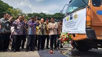 Mentan Amran Sulaiman dan jajaran direksi PT Charoen Pokphand Indonesia Tbk (Dok Foto: Merdeka.com/Wilfridus Setu Embu)